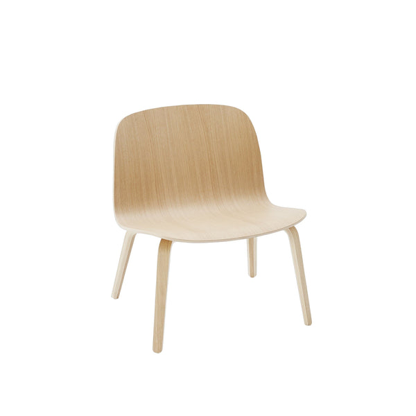 Muuto Visu Lounge Chair in oak, available from someday designs