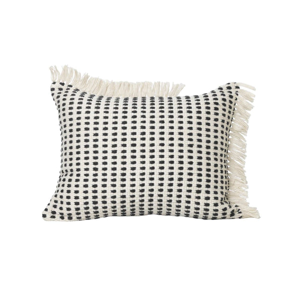 Ferm Living Way cushion made from 55 used plastic bottles. Available from someday designs