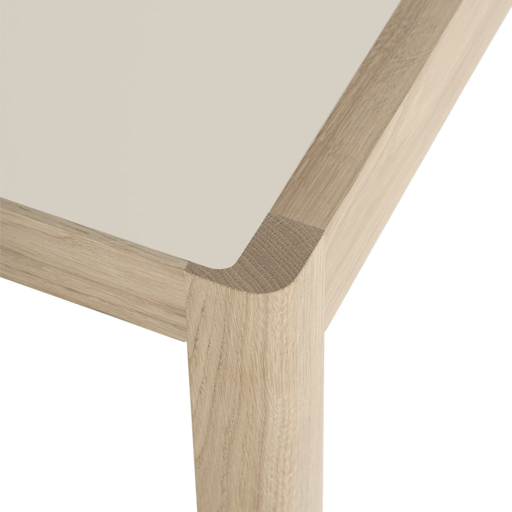 Muuto Workshop Table close up detailing. Shop online at someday designs