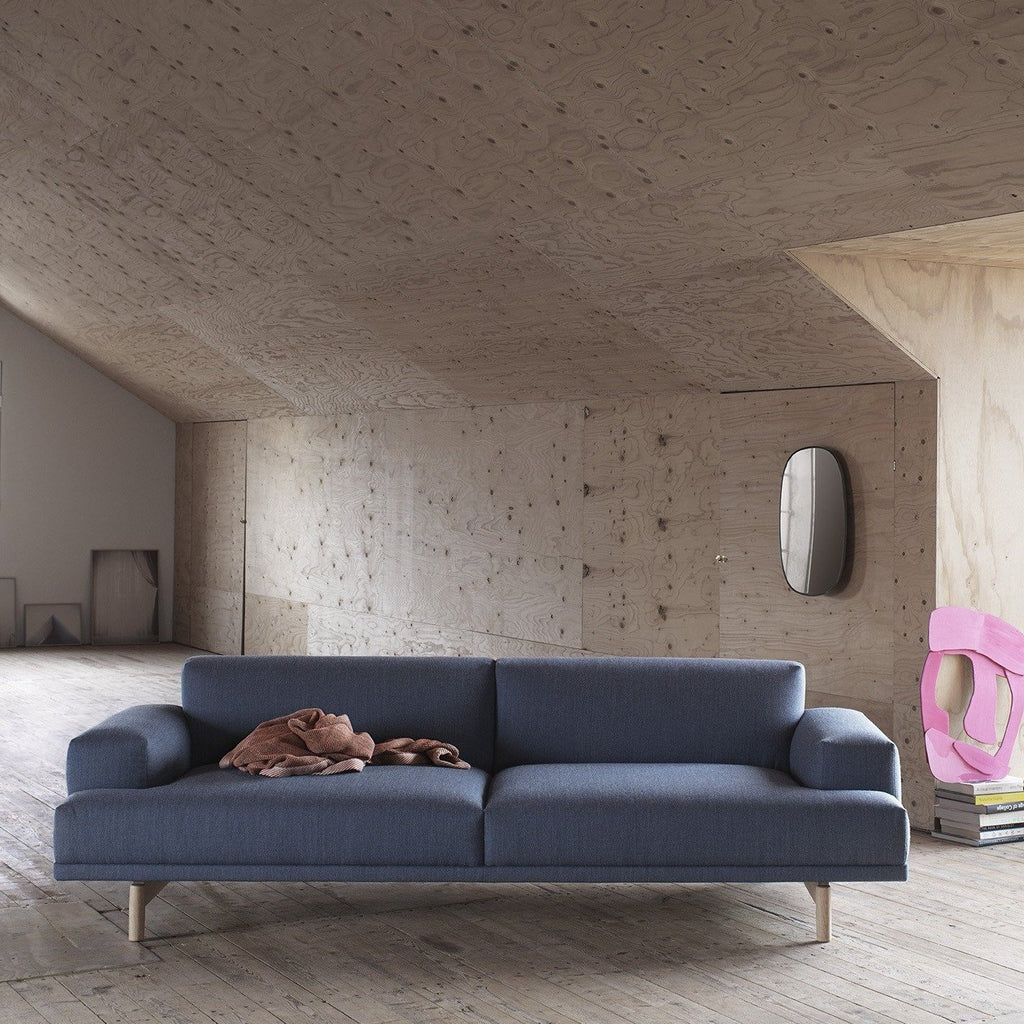 muuto compose sofa in lifestyle home setting