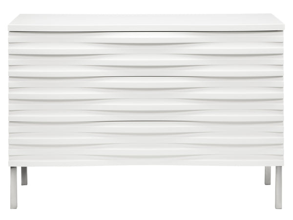 Wave Chest of Drawers in White from Content by Terence Conran