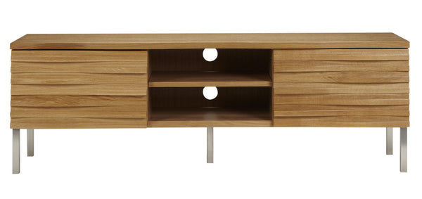 Wave Media Unit in Oak from Content by Terence Conran