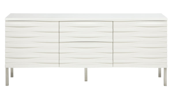 Wave Sideboard Large in White from Content by Terence Conran