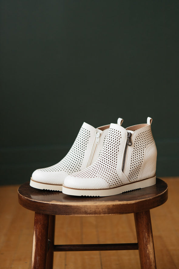 Lamber Wedge Sneaker - Robbie + Co.
