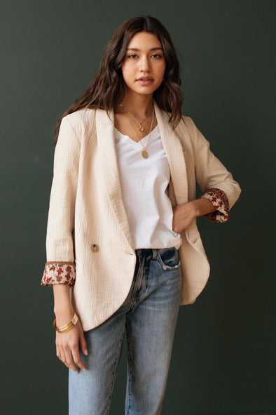 Free People Rowan Blazer - Robbie + Co.