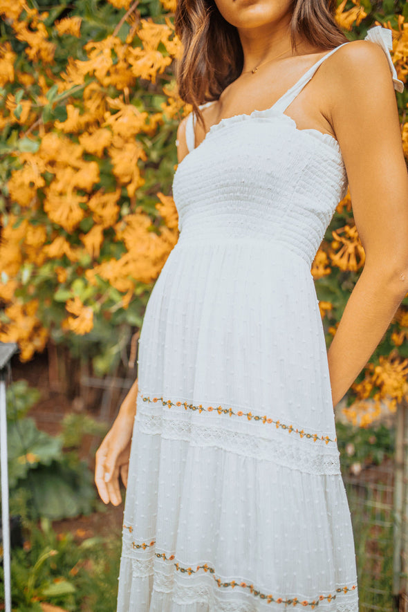 Sicily Tiered Maxi Dress
