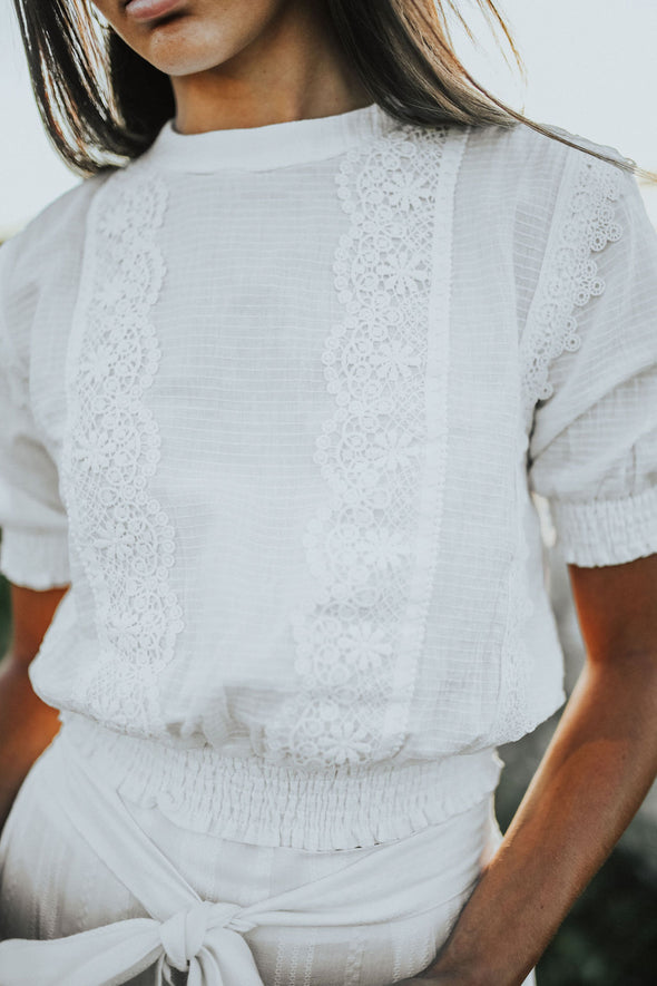 Robin Smocked Top - Robbie + Co.