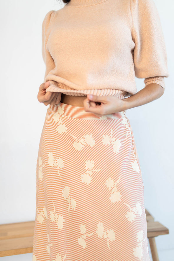 Bloom Baby Bloom Skirt in Blush - Robbie + Co.