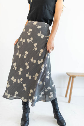Bloom Baby Bloom Skirt in Black