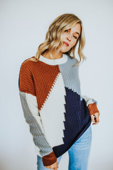 Clayborne Sweater - Robbie + Co.