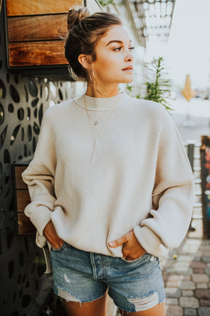 Free People Easy Street Tunic in Pearl - Robbie + Co.