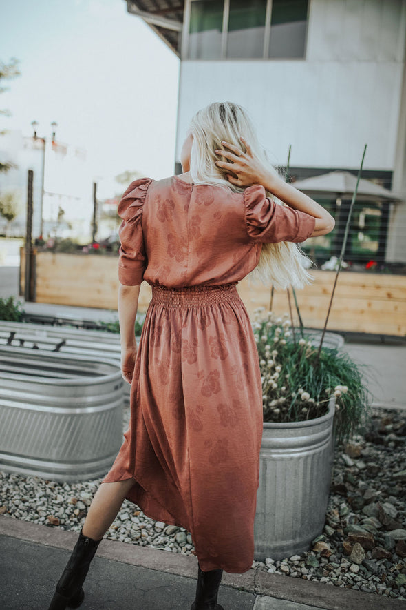 Practical Magic Midi Dress - Robbie + Co.