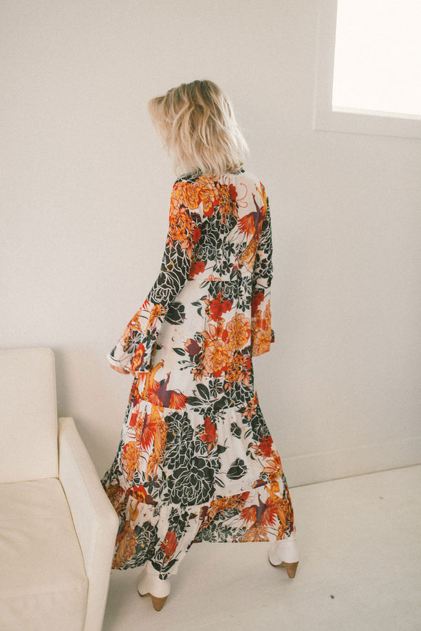 Free People Moroccan Roll Maxi Dress
