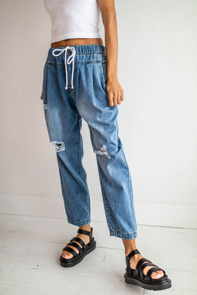 Salome Slouchy Jeans - Robbie + Co.