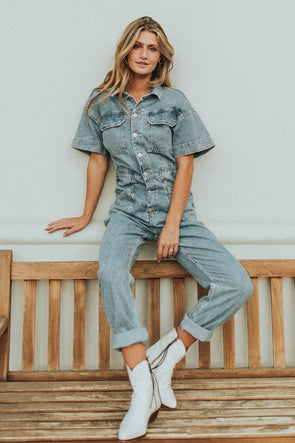 Free People Marci Coverall