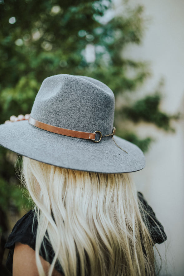 Tucson Hat in Grey - Robbie + Co.