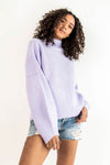 Raya Sweater in Lavender - Robbie + Co.