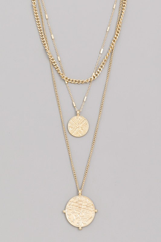 Linnet Coin Necklace Set - Robbie + Co.
