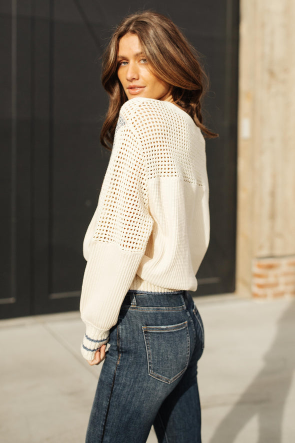 Free People Geo Party Pullover