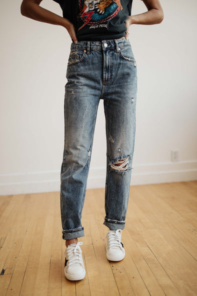 Free People Dakota Straight Leg Jean - Robbie + Co.