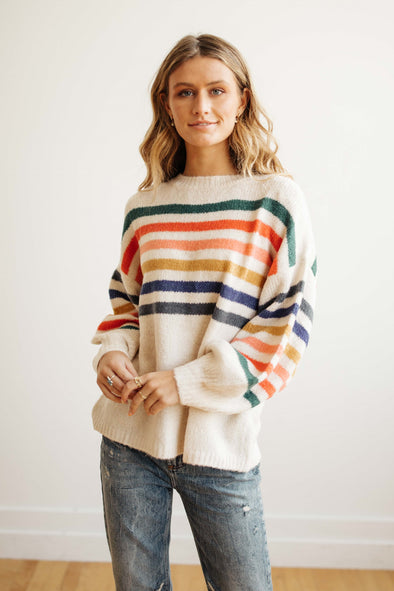 Marissa Stripe Sweater