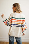 Marissa Stripe Sweater - Robbie + Co.