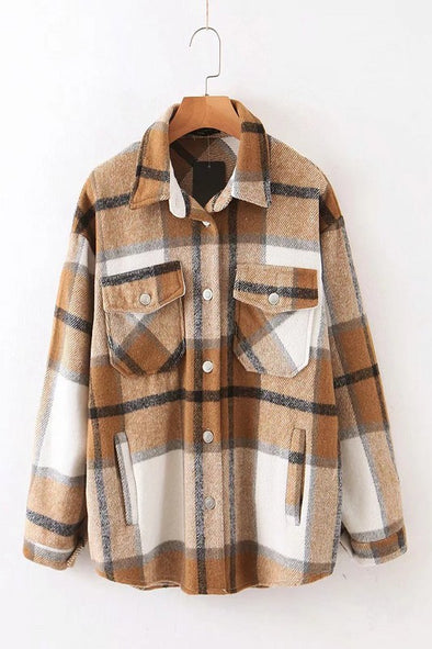 Billie Plaid Jacket
