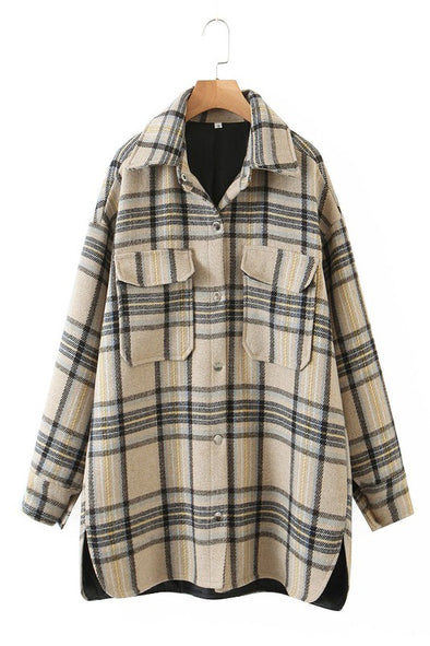 Ira Plaid Jacket