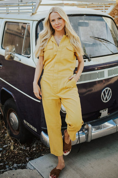 The Bob Coverall Jumpsuit - Robbie + Co.