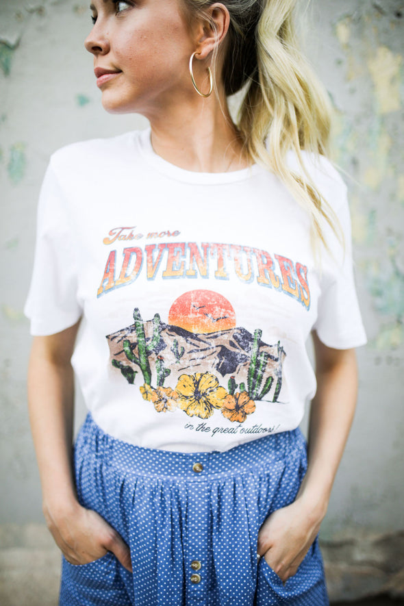 Take Adventures Tee - Robbie + Co.