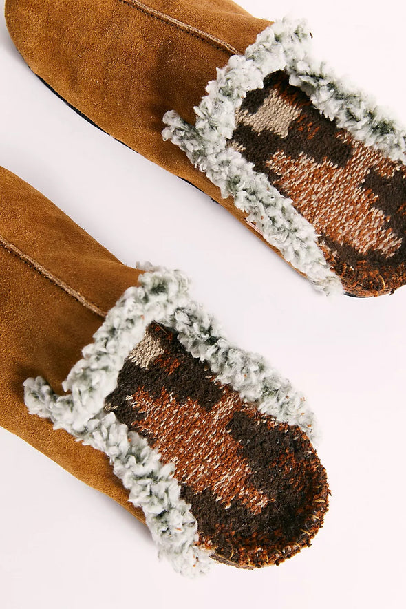 Free People Damon Cozy Mules