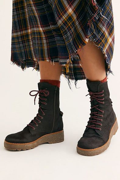 Free People Taos Lace-Up Boot