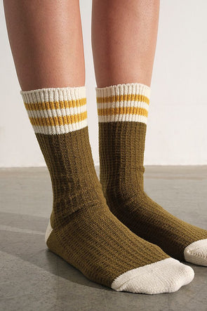 Free People Beloved Jackson Cozy Stripe Socks