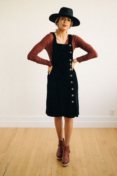 Morris Corduroy Jumper Dress