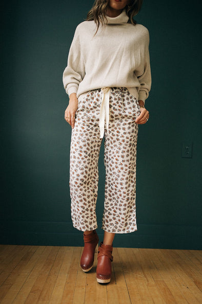 Mumford Wide Leg Pants in Ivory