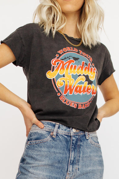 Muddy Waters Cut-Off Tee