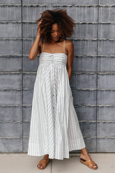 Free People Easy Breezy Midi Dress