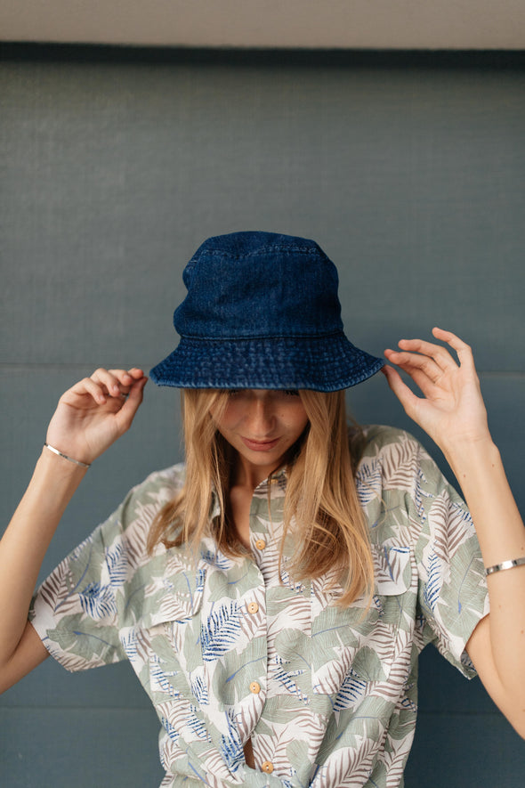 Bucket List Bucket Hat