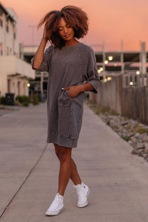 Eden Sweatshirt Dress