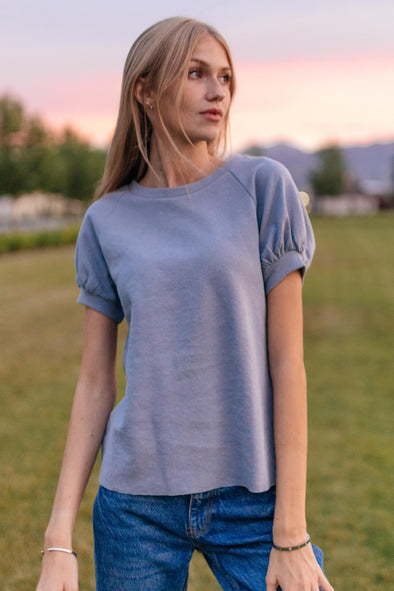 Semi Charmed French Terry Top