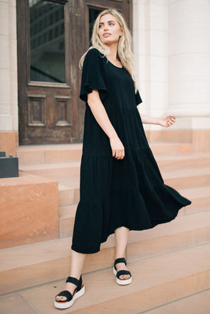 Full Swing Midi Dress
