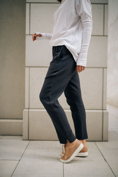 Gauzy Cotton Pants