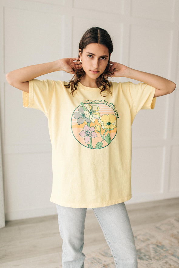 Flower in the Sun 90's Tee