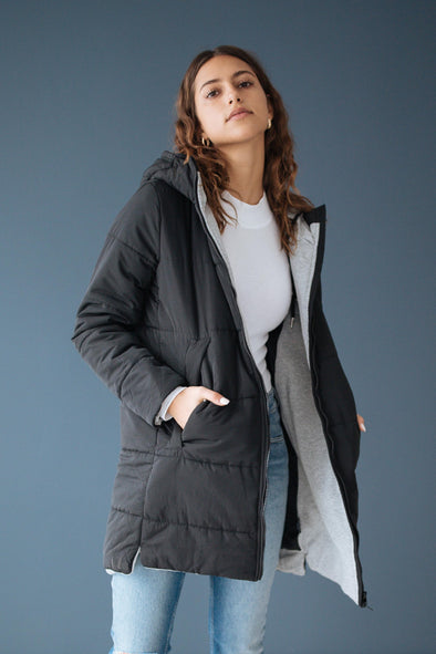 Vale Hooded Puffer Jacket