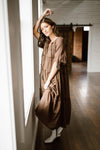 Chloe Dress in Mocha