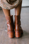 Seychelles Turbulent Boots in Tan
