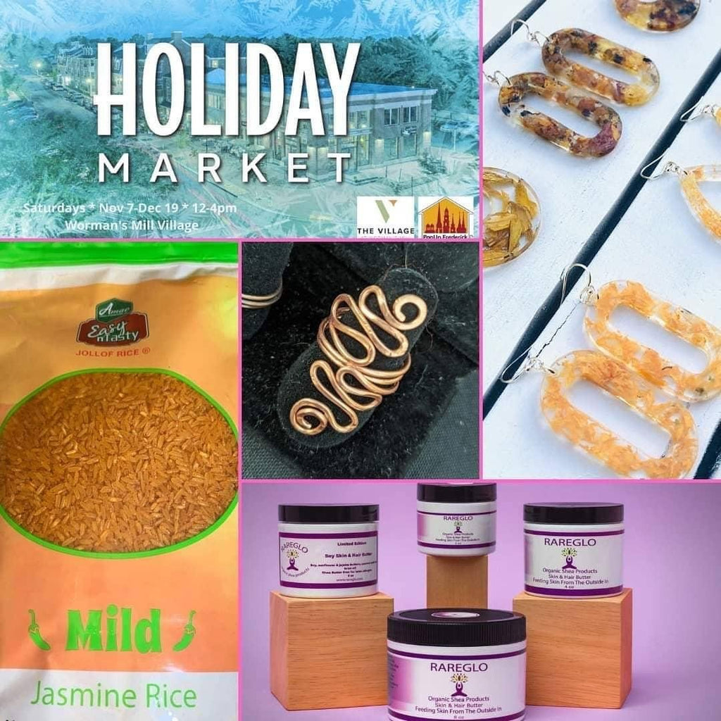 Holiday Outdoor Pop-Up | RareGlo Organic Shea Products