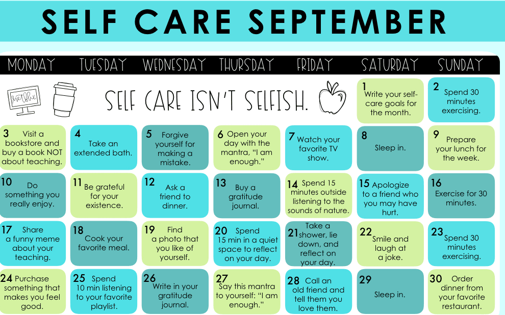 September Is Self-Care Awareness Month | RareGlo Organic Shea Products