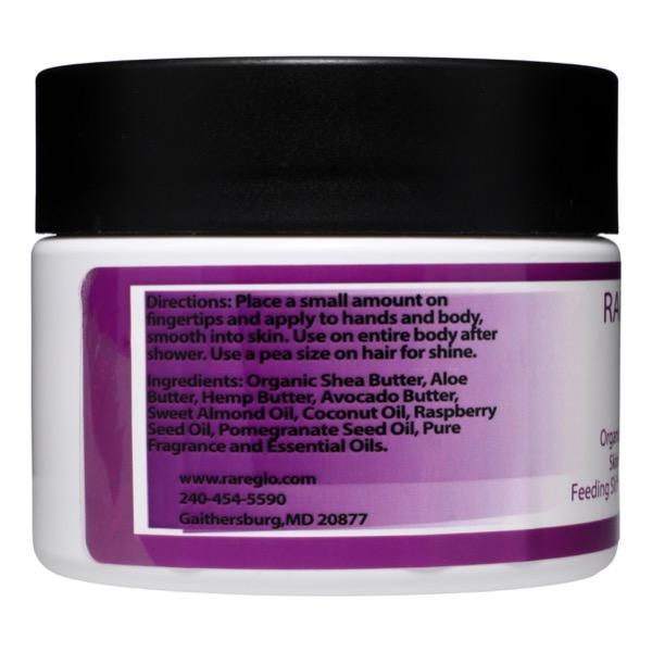 RareGlo Skin & Hair Butter 12 oz - RareGlo Organic Shea Products