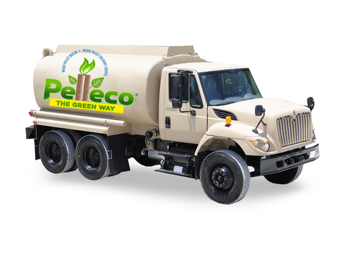 Pelleco Delivery Truck